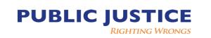 Public Justice Logo