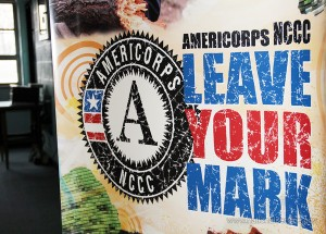 AmeriCorps NCCC banner - Leave Your Mark-M