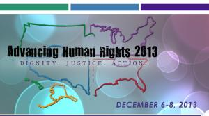 Advancing Human Rights Conf
