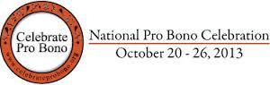 Celebrate Pro Bono 2013