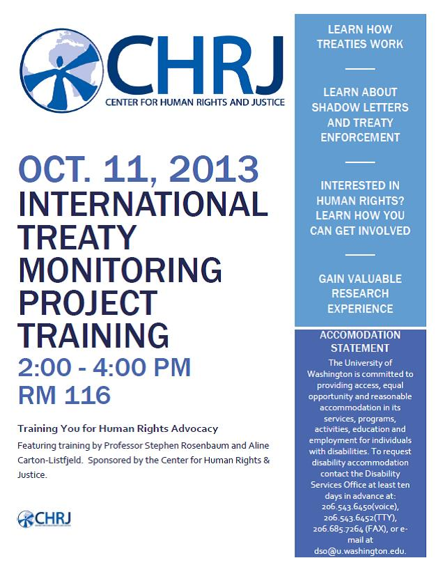 ITMP Training Flyer