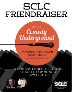 SCLC Comedy fundraiser