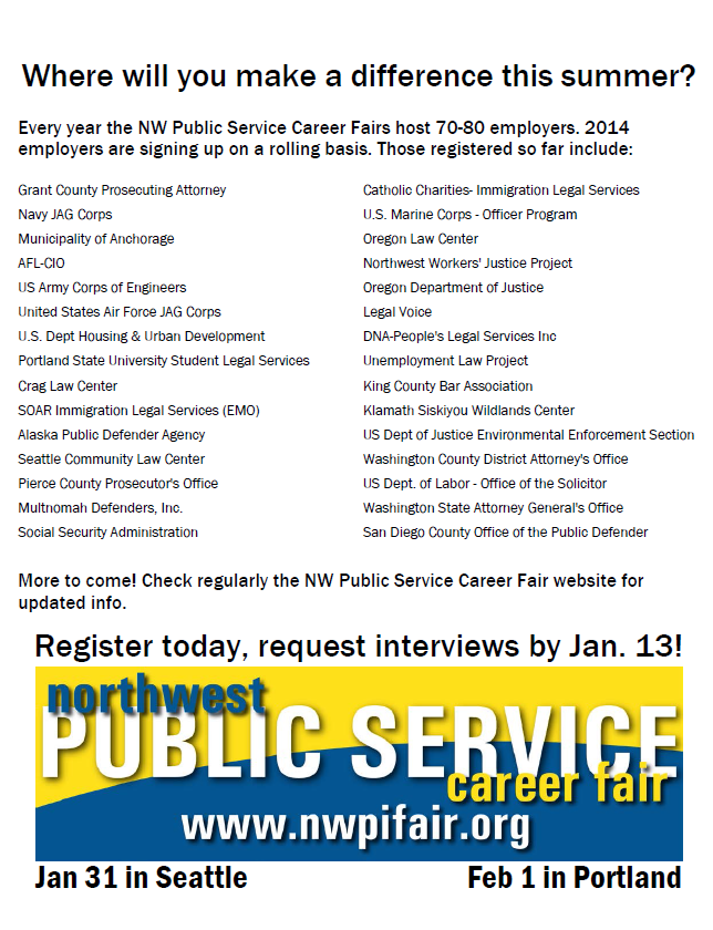 2014 NW PS Career Fair