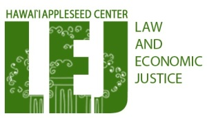 Hawaii Appleseed LEJ Logo