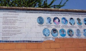 Portrait of Rio Negro's Massacre Victims in Guatemala