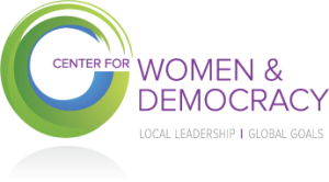 Center for Women and Democracy (CWD) Logo
