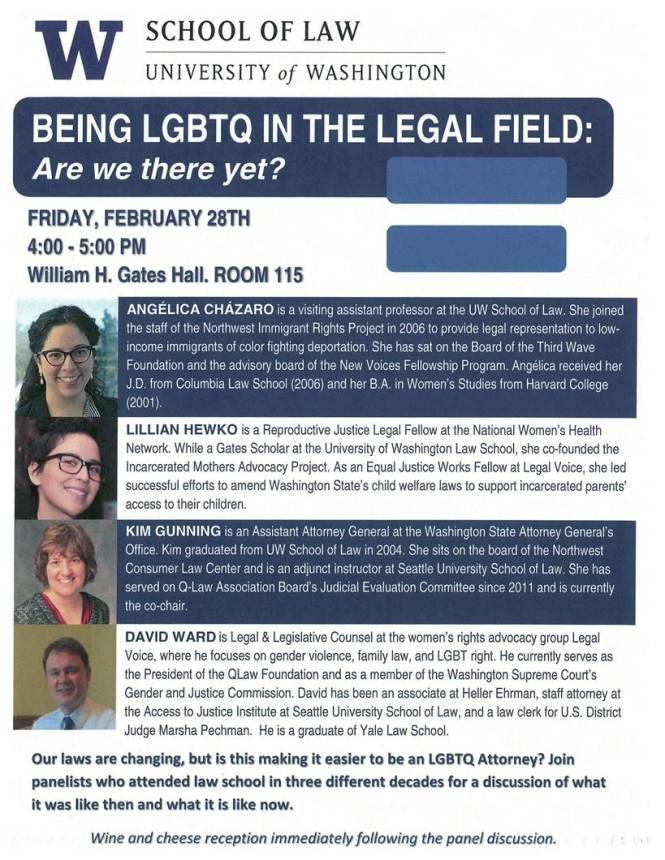 LGBTQ 2.28.14 Event Flyer