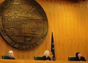 Alaska Courts System Judiciary