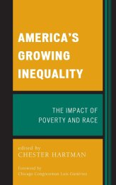 Americas Growing Inequality Impact Poverty Cover