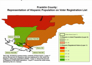 Franklin County Voter Registration Map