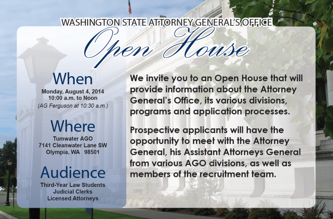 WA AGO 8-4-14 Open-House-Flyer 2014