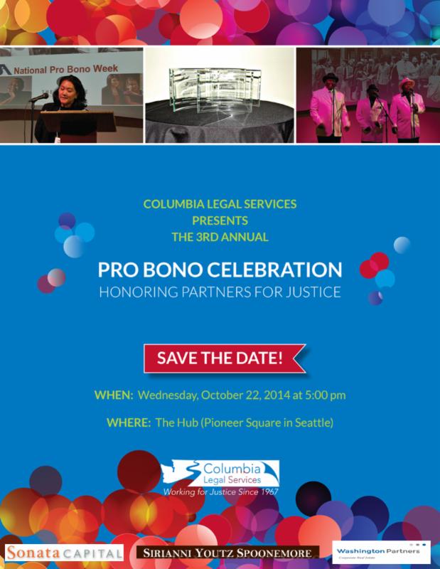 CLS 2014 Pro Bono Celebration