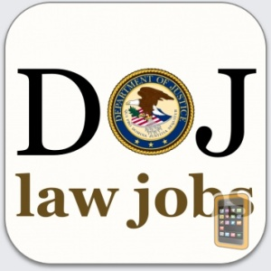 DOJ Law Jobs