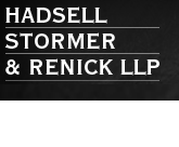 Hadsell Stormer and Renick LLP Logo