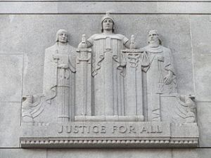 Statute - justice for all