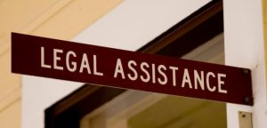 Legal Assistance Sign