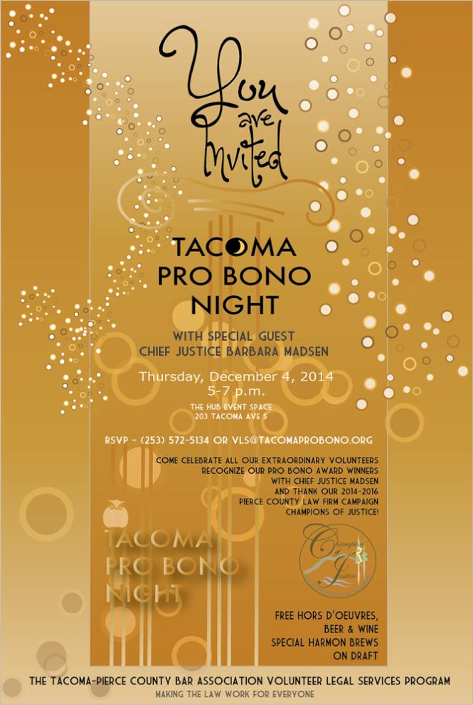 Tacoma Pro Bono Night