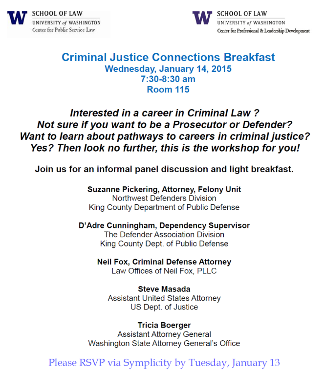 crim justice connections bkfast