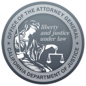 DOJ & OAG Seal for California
