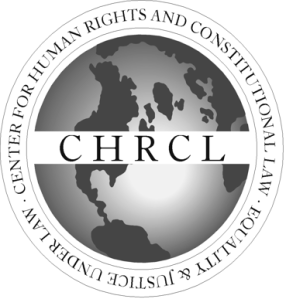 Center for Human Rights and Constitutional Law Logo