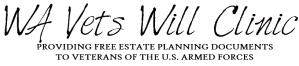 WA Vets Wills Clinic Logo