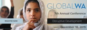 GlobalWA 2015 Conference Banner