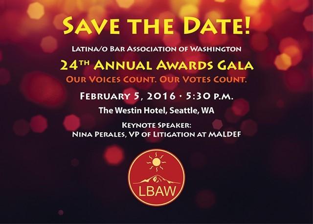 LBAW 24th Annual Award Banner