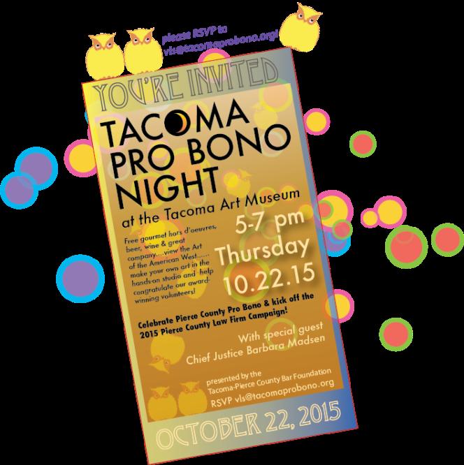 Tacoma Pro Bono Night 2015